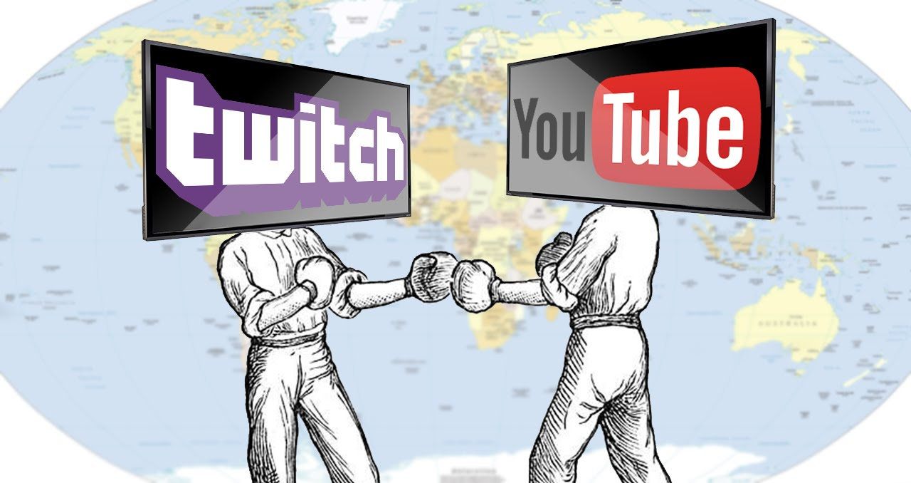 Youtube gaming, Twitch